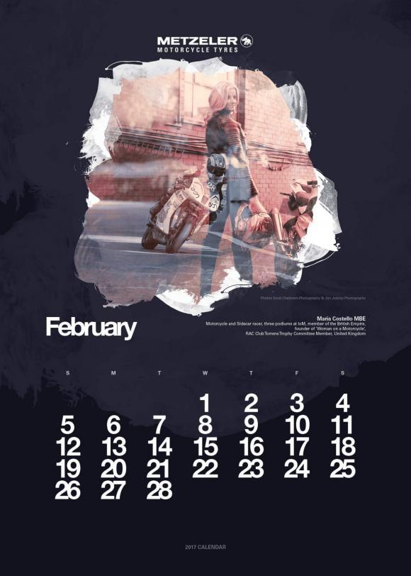 Metzeler naptár 2017