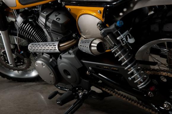 Yamaha SCR950 tunning 2017