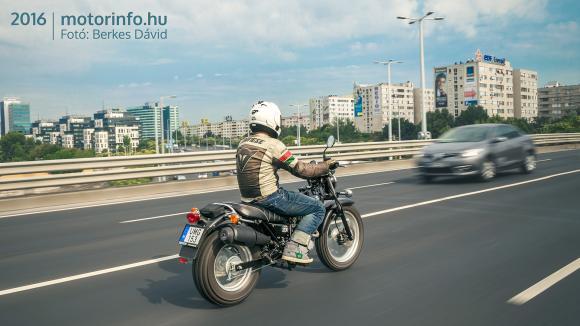 Suzuki VanVan 200 teszt