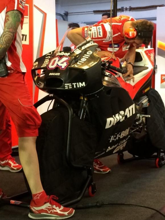 Ducati aerodinamika
