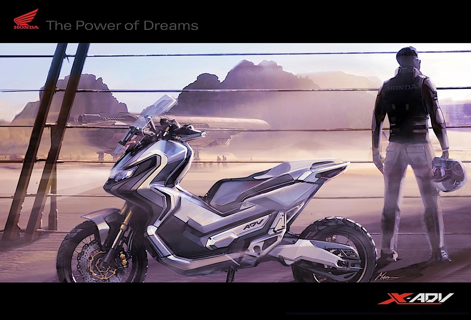 Honda X-ADV 2017 tervek