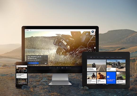 BMW Weboldal