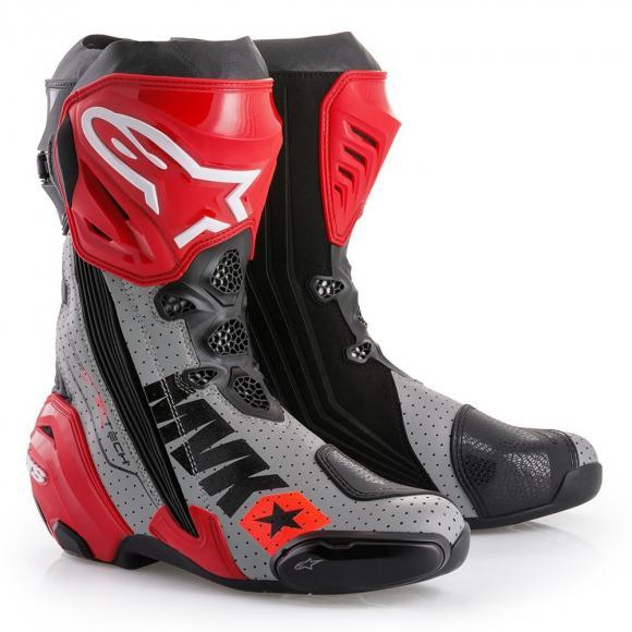 Maverick Vinales Alpinestars Boot , csizma 2017