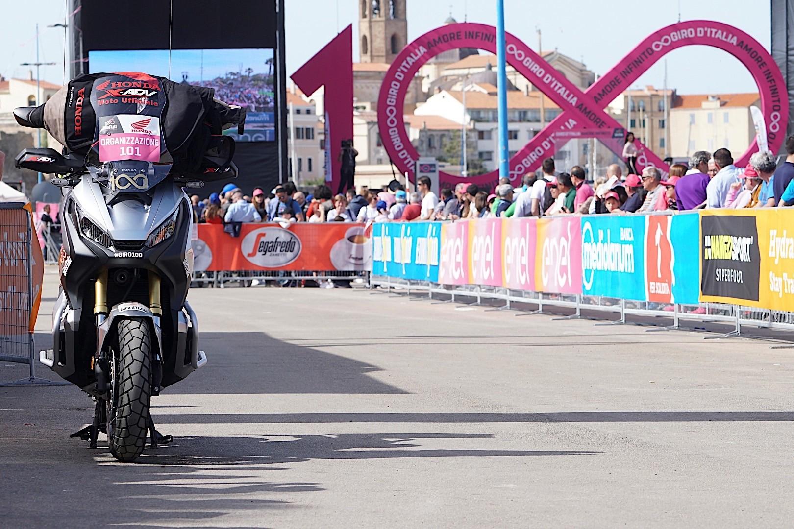 Honda a 100. Giro d'Italia