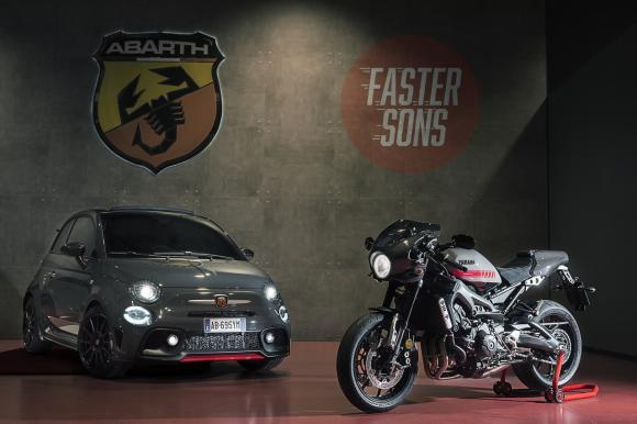 Yamaha Abarth show Magyaroroszag