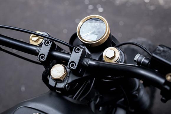 Moto Guzzi Nevada 750 1999 átépítés
