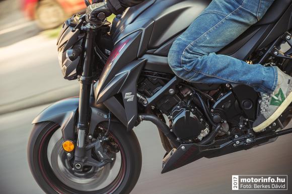 Suzuki GSXS-750 Teszt