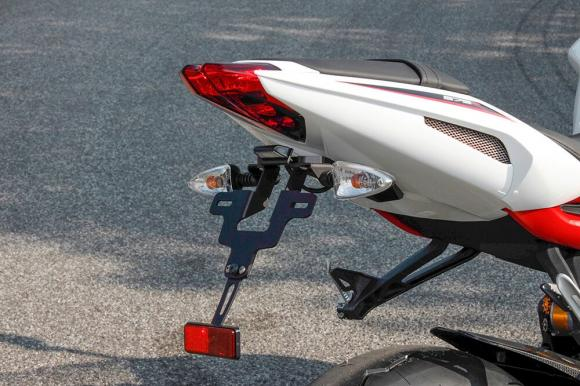 X-Bike LSL rendszamtabla tarto motorra