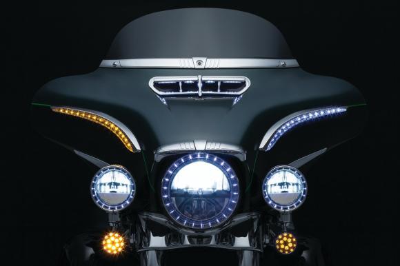 Kyriakyn LED fényszoró Harley Davidson Electra