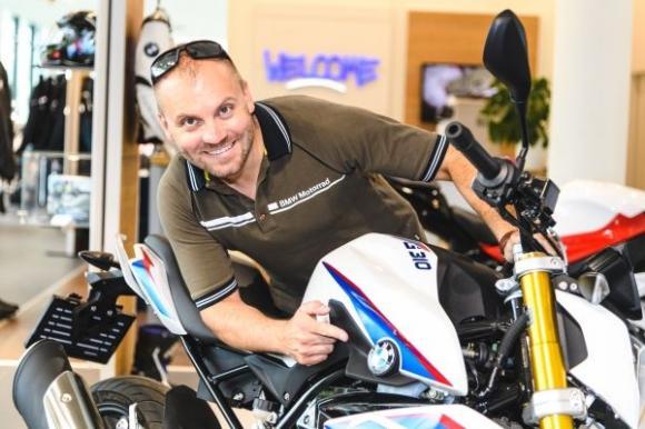 Talmácsi Gábor BMW