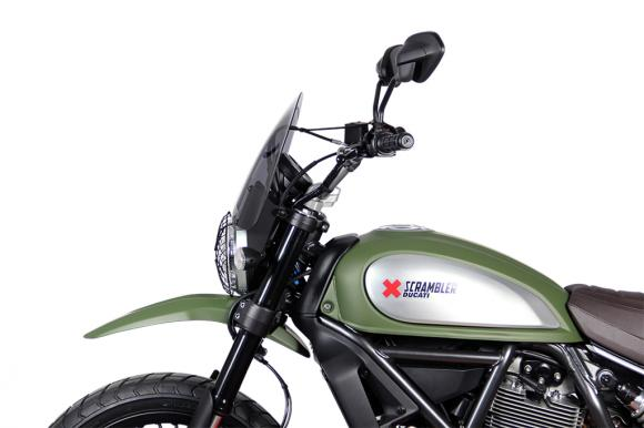 Ducati Scrambler MRA plexi