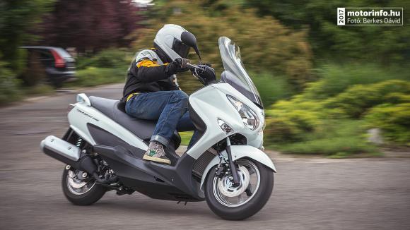 Suzuki Burgman 2017 teszt