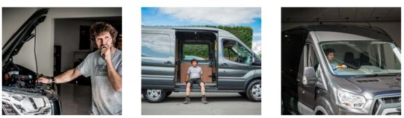 Guy Martin Ford Transit