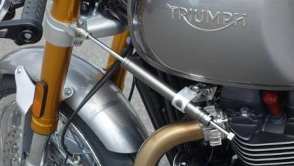 LSL kormánylengés csillapító a Triumph Thruxton 1200-s modellekhez