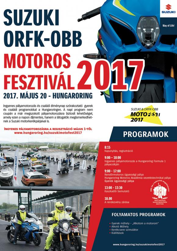 SUZUKI ORFK-OBB MOTOROS FESZTIVÁL