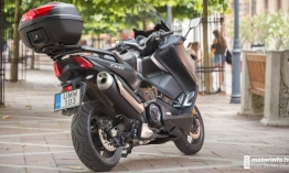 Yamaha TMAX DX 530 Teszt