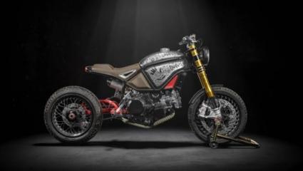 Scramber-tracker Ducati Panigale alapokra