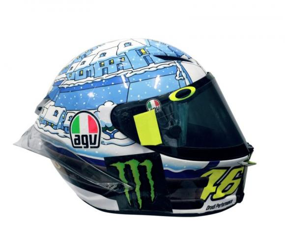 Rossi új sisakja