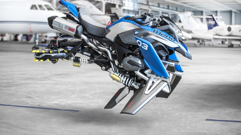 Repülő BMW R1200GS Adventure