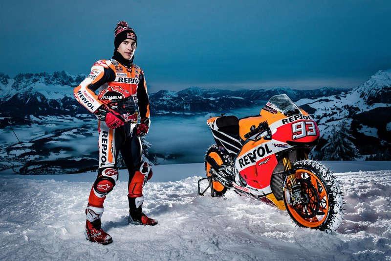 MotoGP motorral a sípályán?