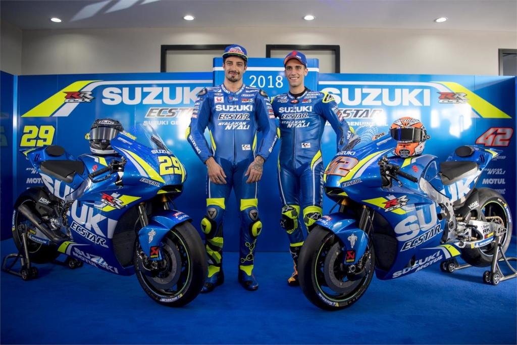 Suzuki ECSTAR csapat bemutató