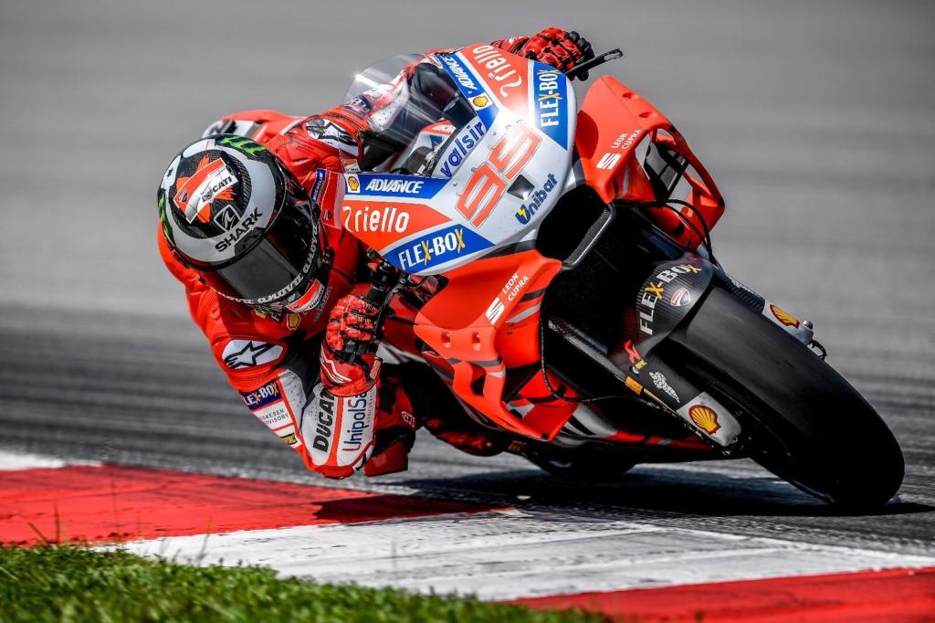 Lorenzo körrekorddal zárta a tesztet.