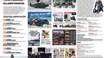 Elkészült és megjelent a februári SuperBike Magazin