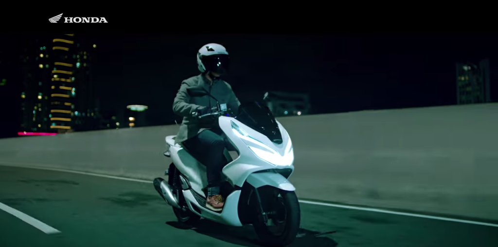 Honda PCX 2018 – Videó