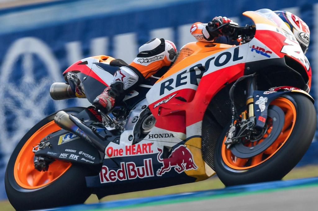 MotoGP - thaiföldi teszt összesített információi