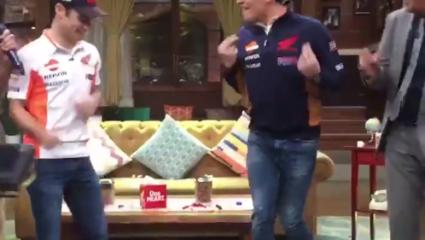 Így táncol Marc Marquez