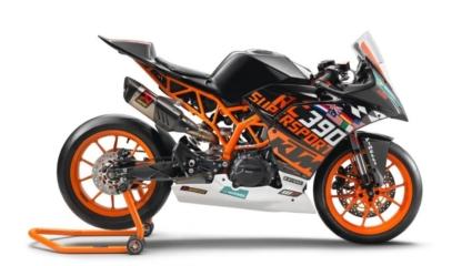 KTM RC390 R  homologizált verseny verzió