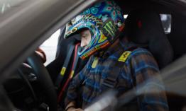 Valentino Rossi kipróbálta az új Ferrari 488 Pista-t a Fiorano pályán