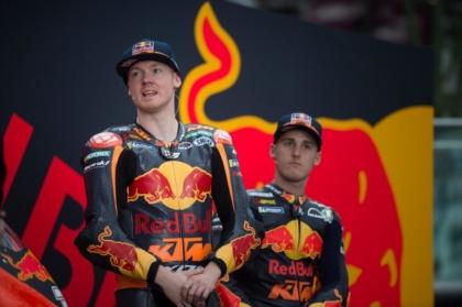 A KTM bemutatta MotoGP csapatát