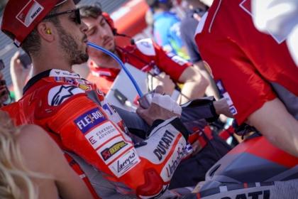 Bajban a Ducati?