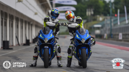 SUZUKI MOTOROKTÓL VOLT HANGOS A HUNGARORING