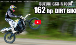 SUZUKI GSX-R 1000 Dirt Bike