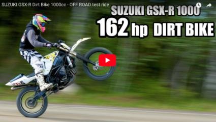 SUZUKI GSX-R 1000 Dirt Bike
