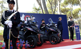 Qooder flottát vett az olasz rendőrség