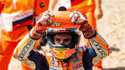 A Rossi táborban ünnepelt Marc Marquez