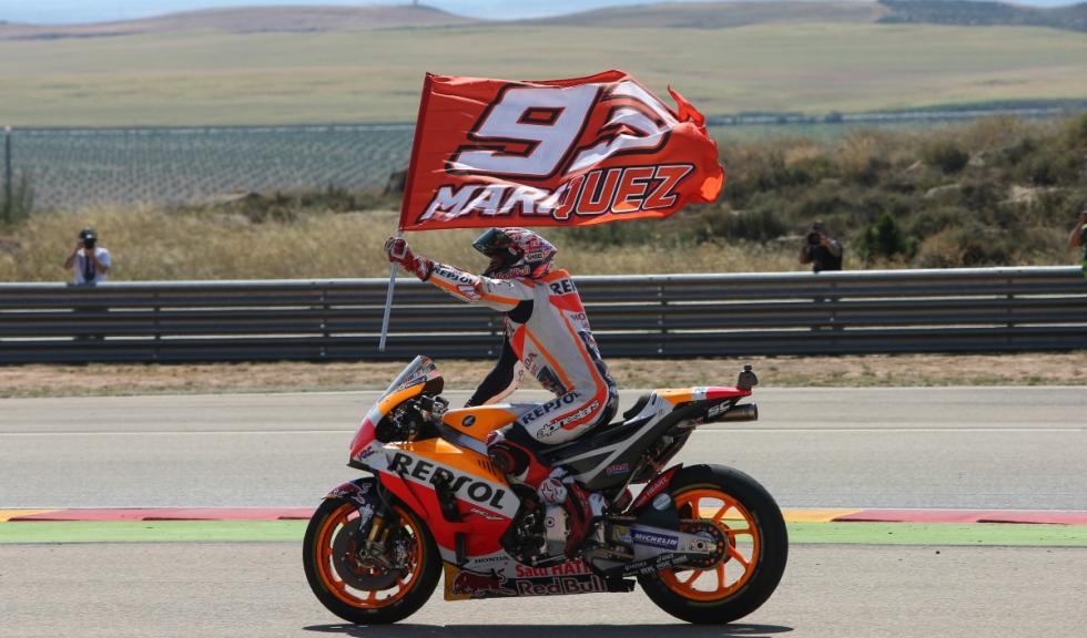 Marquezről neveznek el egy kanyart Aragónban