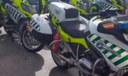 Kényszerpihenőre mehetnek a spanyol motorosrendőrök