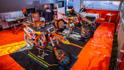 Peches hétvége Gaildorfban - HTS KTM Team beszámoló