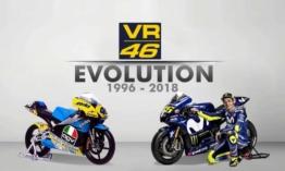 Valentino Rossi motor evolúció