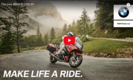 Új BMW 1250 RT – Videó
