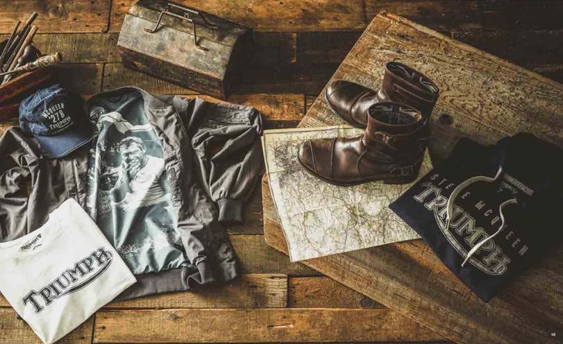 Triumph ruházati kollekció 2018