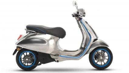 Vespa Elettrica – kétmillió forint körüli áron kerül piacra az új verzió.