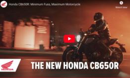 CB 650R bemutató – videó