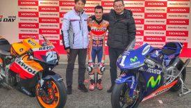 Két motorral búcsúztatja a Honda Dani Pedrosát.