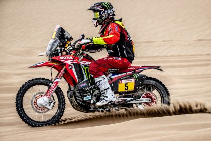 Barreda az élről esett ki a Dakar harmadik napján