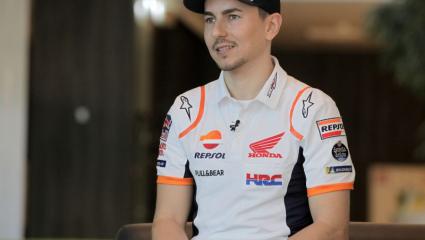 Először adott interjút Repsol Honda színekben Jorge Lorenzo
